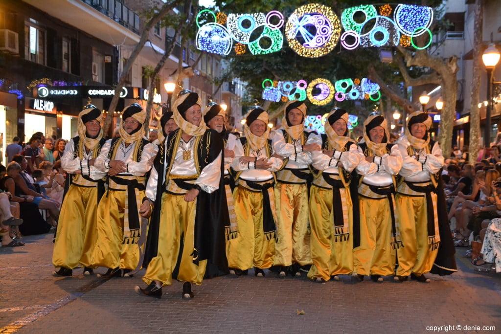 Gala défilé Moros y Cristianos Dénia 2018 - fila walies