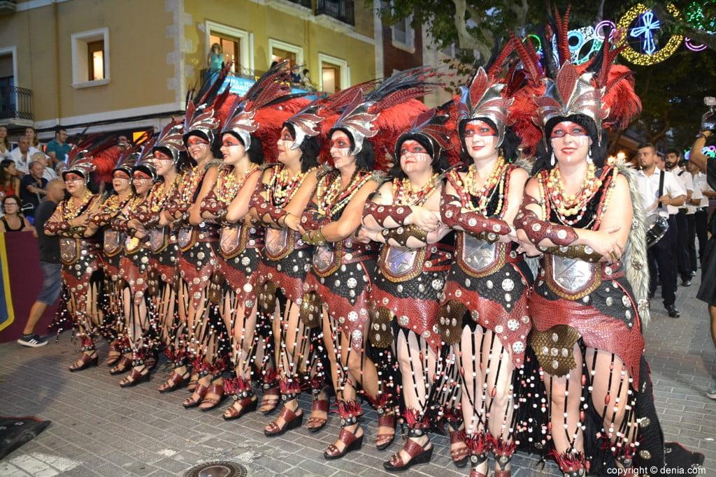 Défilé de Gala Moors et Chrétiens Dénia 2018 - Filà Amazigh