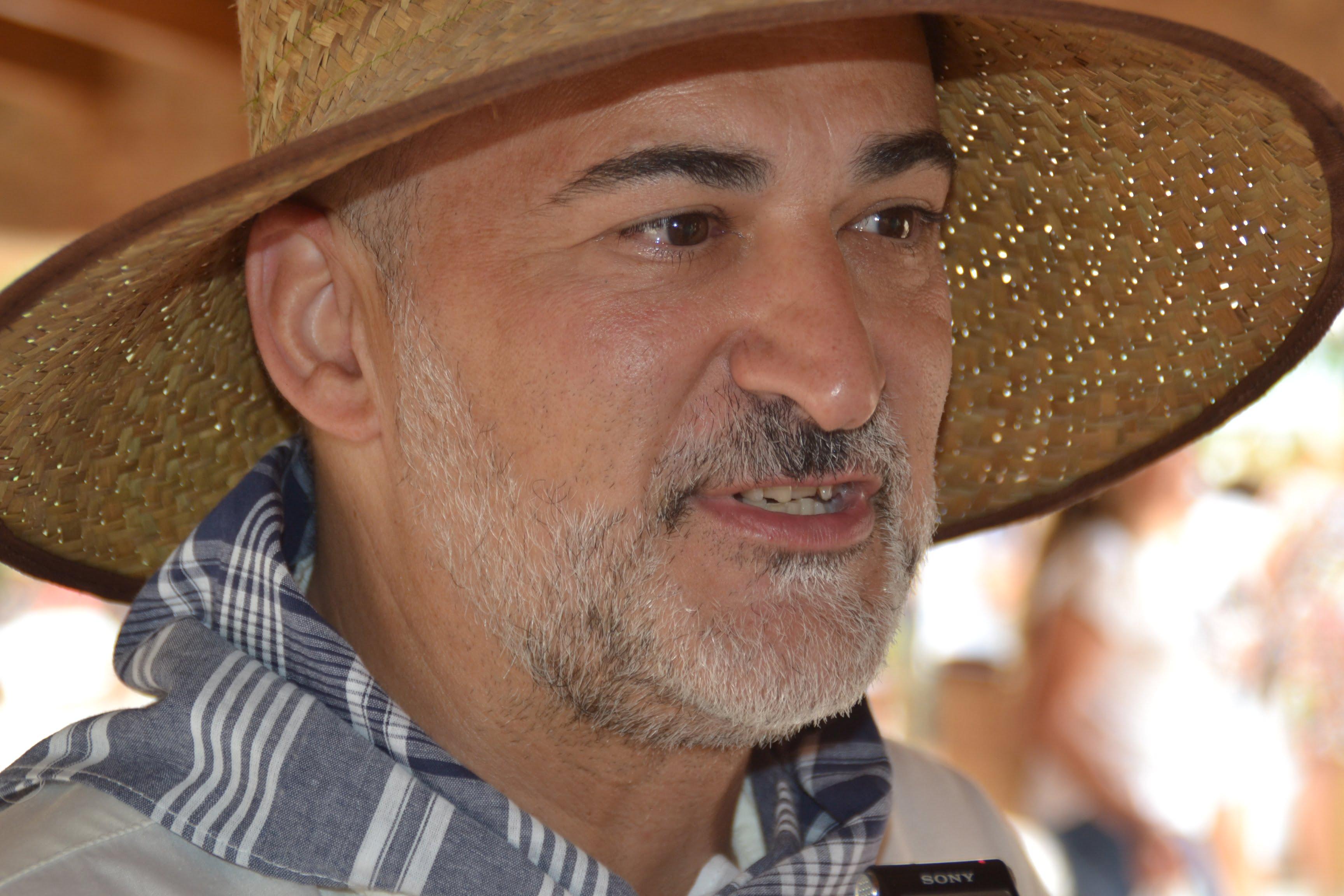 Le maire Javier Scotto