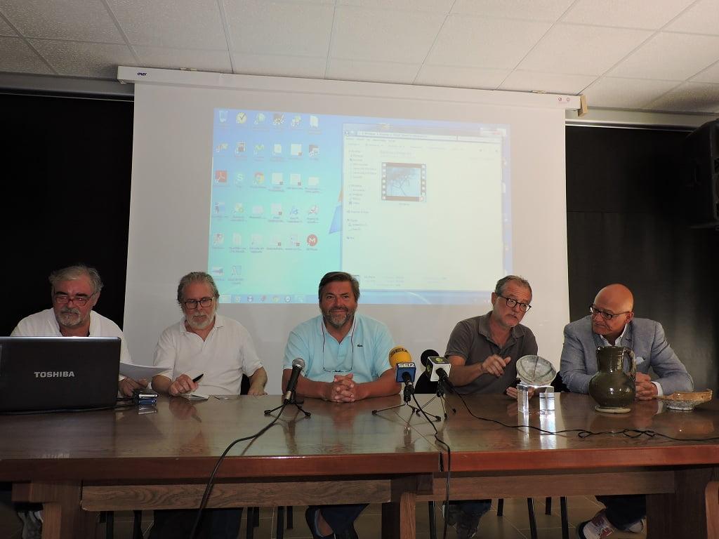 Roda de premsa de presentació de la troballa