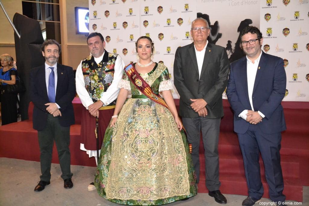 Invitados a la presentación de la fallera mayor de Dénia 2019 – Ada Arbona