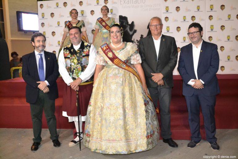 Invitados a la presentación de la fallera mayor de Dénia 2019 - Raquel Jorrillo