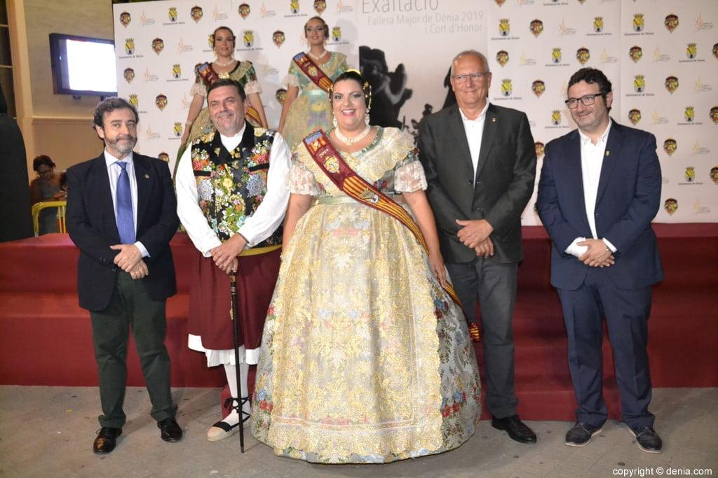 Invitados a la presentación de la fallera mayor de Dénia 2019 – Raquel Jorrillo