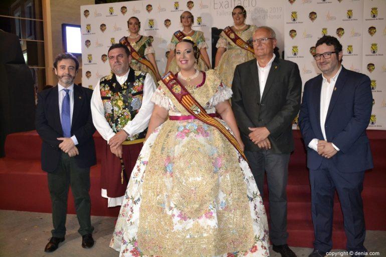Invitados a la presentación de la fallera mayor de Dénia 2019 - Raquel Martín