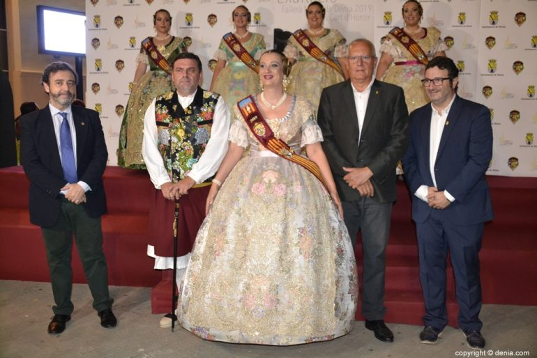 Invitados a la presentación de la fallera mayor de Dénia 2019 - Rosa Pastor