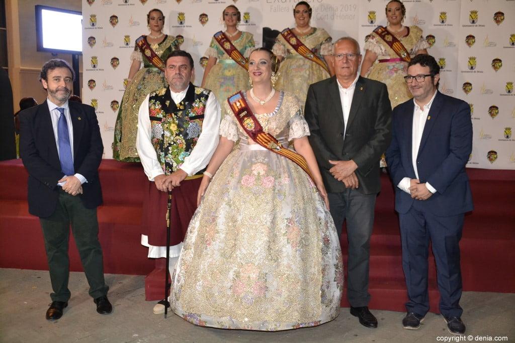 Invitados a la presentación de la fallera mayor de Dénia 2019 – Rosa Pastor