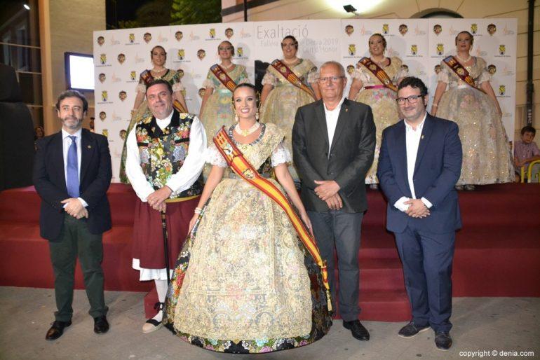 Invitados a la presentación de la fallera mayor de Dénia 2019 - Amparo Petrie