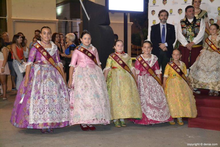 Invitados a la presentación de la fallera mayor de Dénia 2019 - Corte de honor infantil