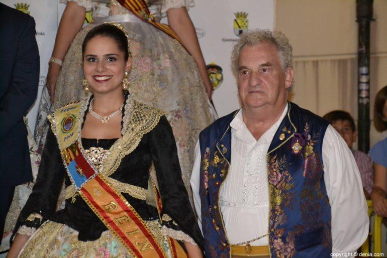 Invitados a la presentación de la fallera mayor de Dénia 2019 - Elche