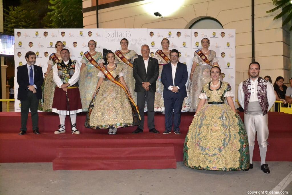 Invitados a la presentación de la fallera mayor de Dénia 2019 – Gandía