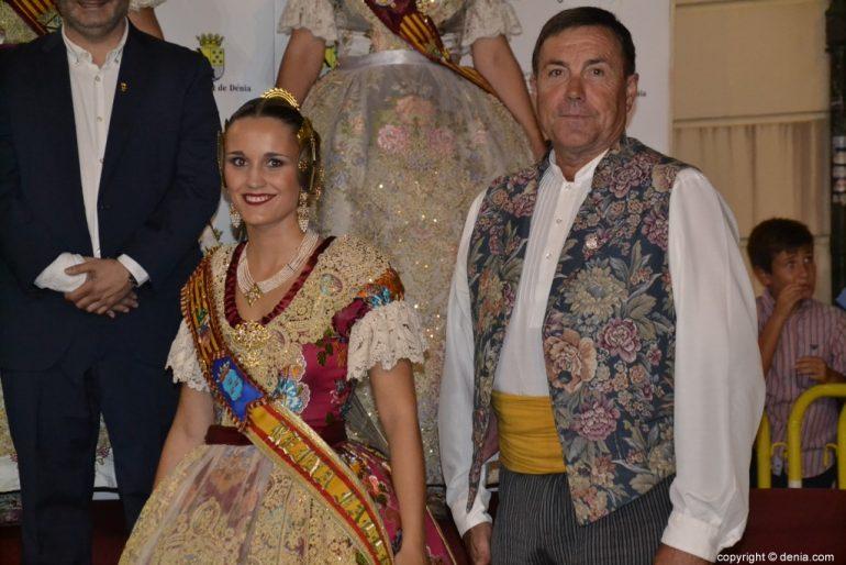 Invitados a la presentación de la fallera mayor de Dénia 2019 - Burriana