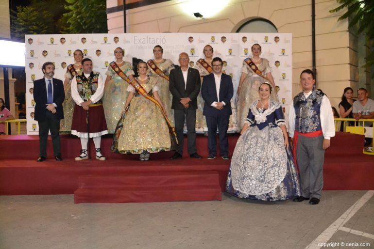 Invitados a la presentación de la fallera mayor de Dénia 2019 - Falla Les Roques