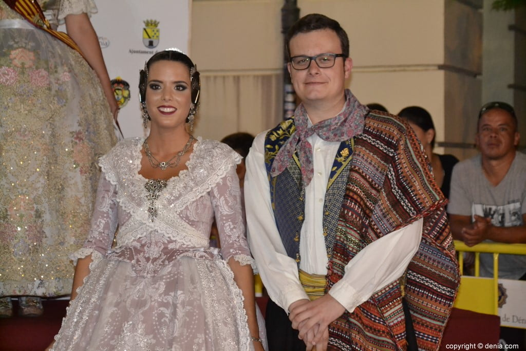 Invitados a la presentación de la fallera mayor de Dénia 2019 – Falla Port Rotes
