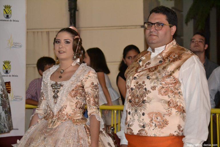Invitados a la presentación de la fallera mayor de Dénia 2019 - Falla Darrere del Castell