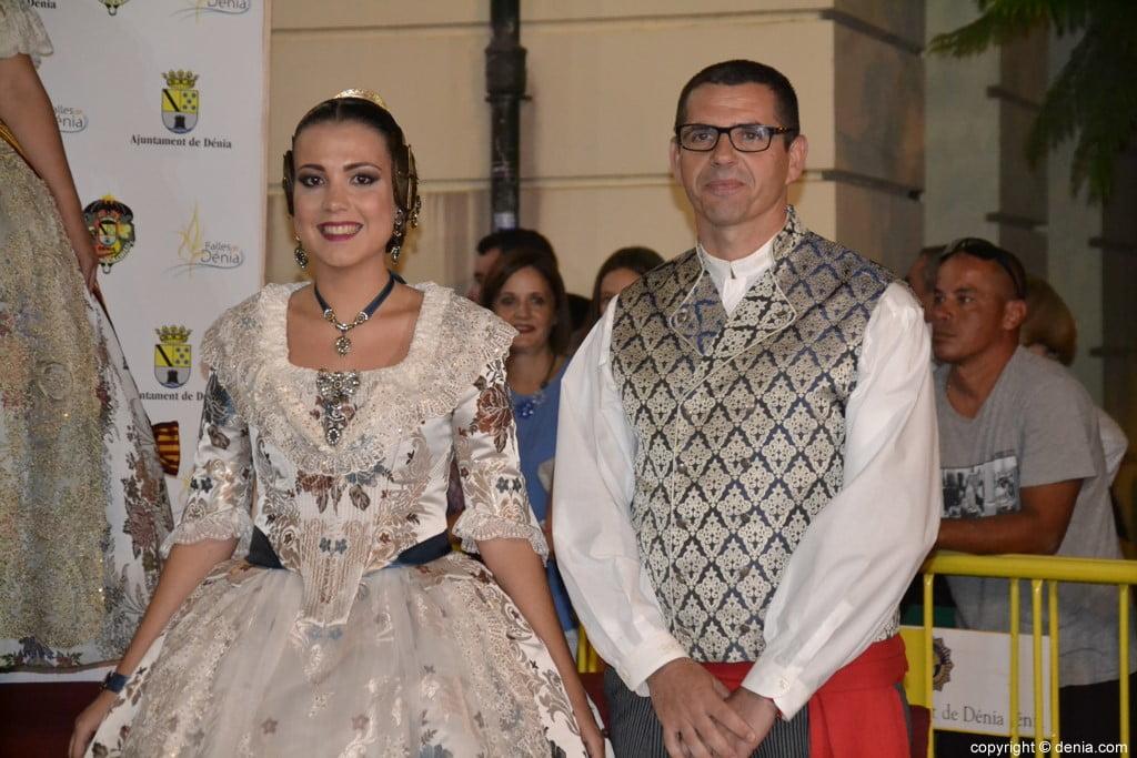 Invitados a la presentación de la fallera mayor de Dénia 2019 – Falla Oeste
