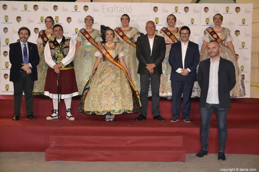 Invitados a la presentación de la fallera mayor de Dénia 2019