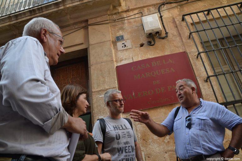 Visita ai lavori della Casa de la Marquesa Valero de Palma