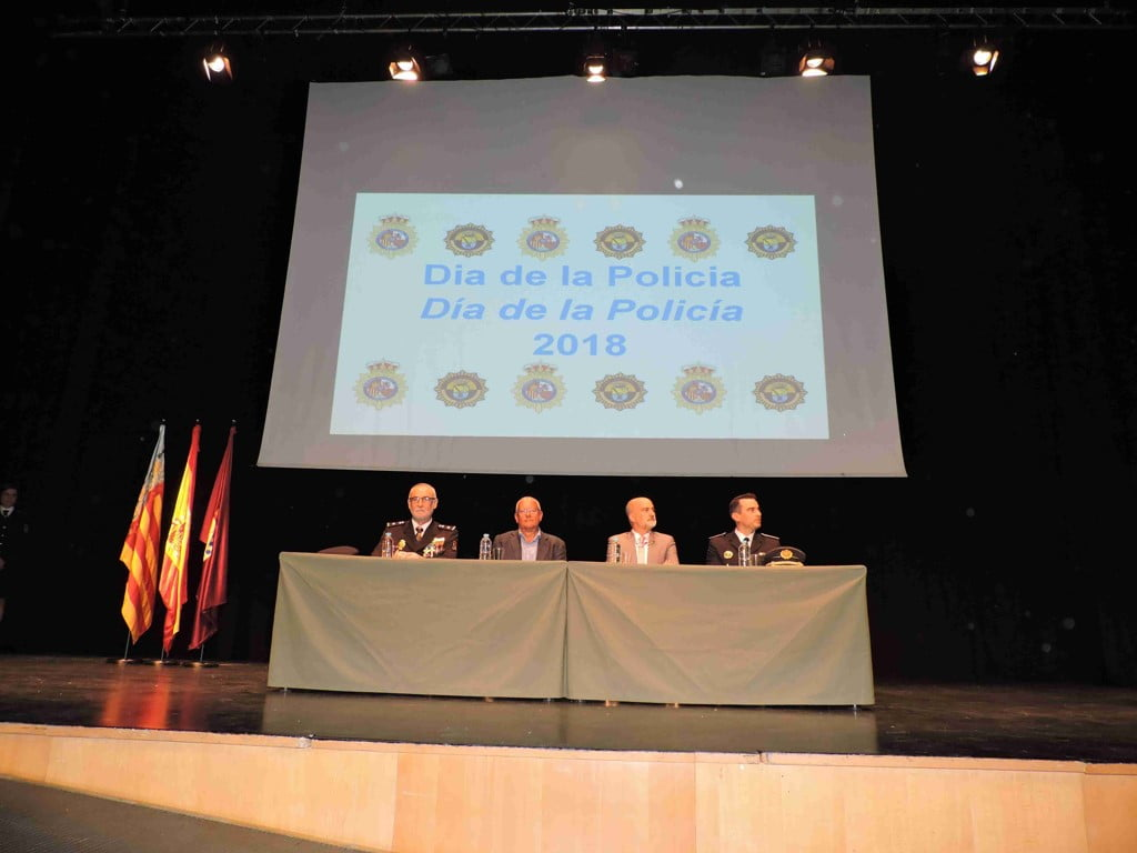 Act of the Day of the Police in Dénia