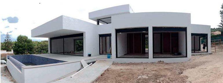 Construcció habitatge Ecowall System Stirling Ackroyd Spain