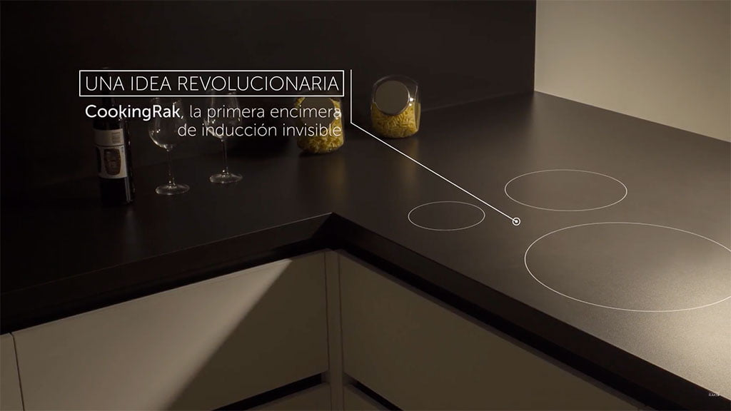 Countertop invisible in Easy Kitchen
