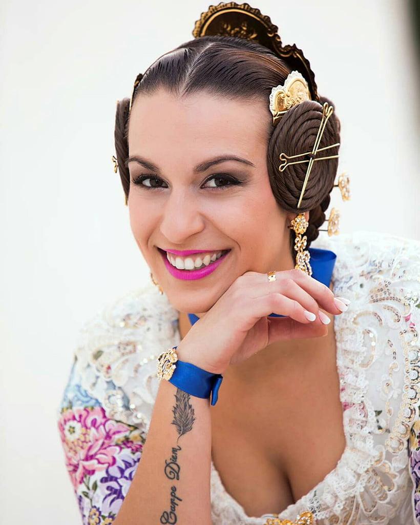 Maquillatge fallera Candice Julià Centre d'Estètica