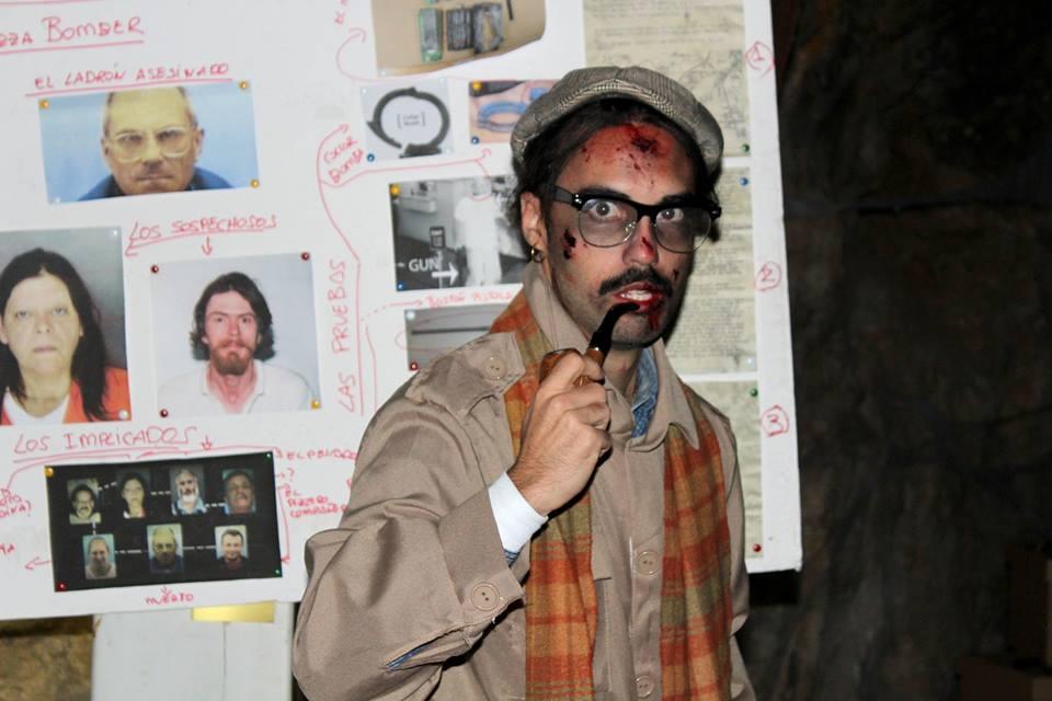 Actors al túnel del terror