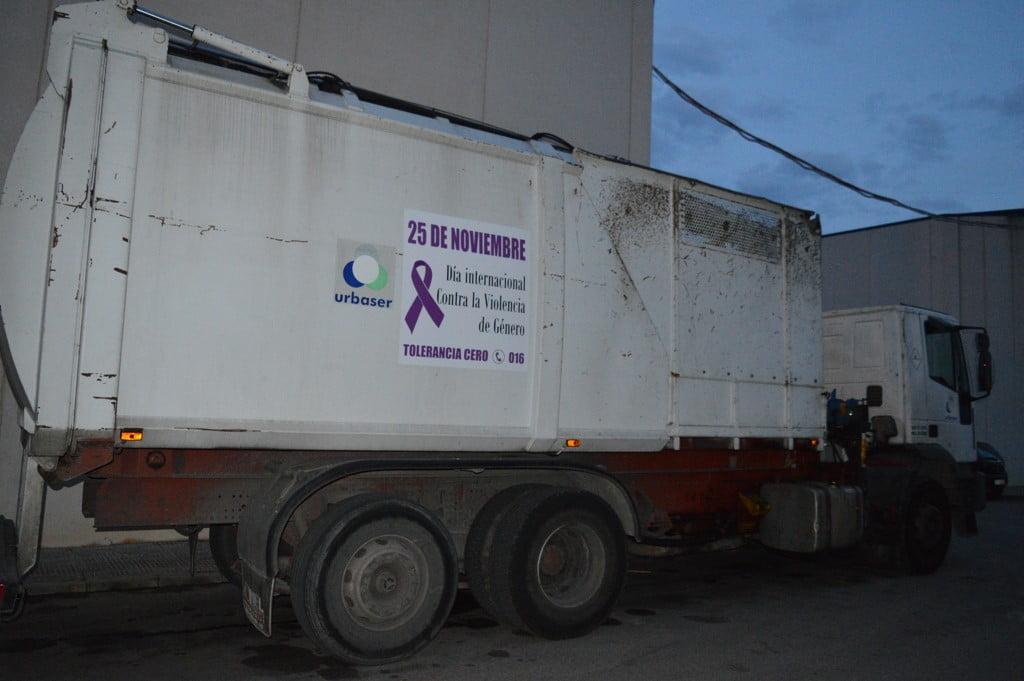 Camión de Urbaser