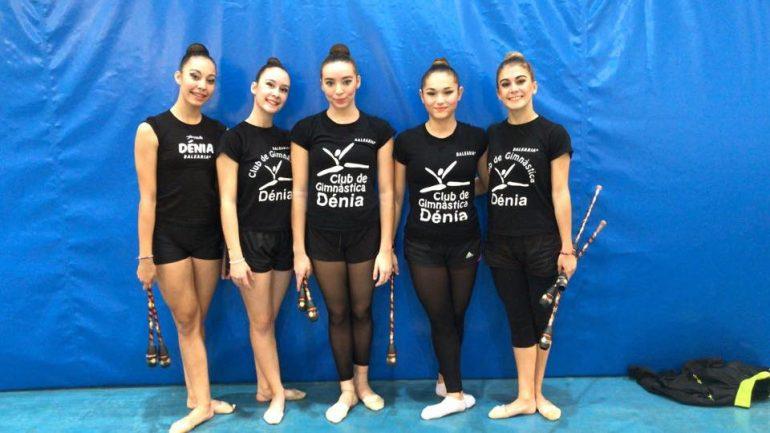 Conjunto Senior Club GR Denia Campeón Provincial .