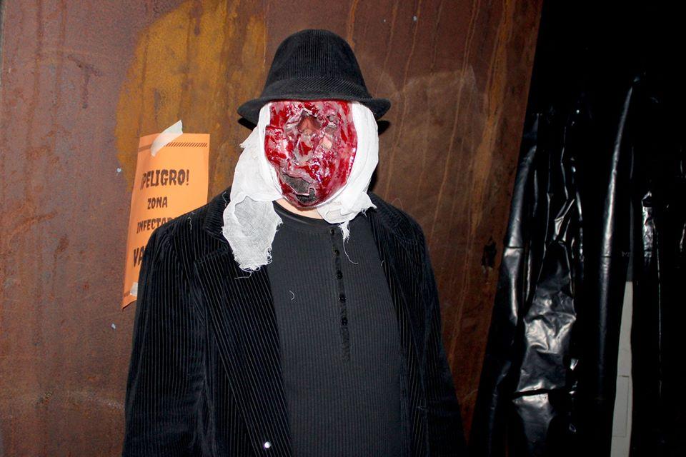 Halloween al túnel del terror de Dénia