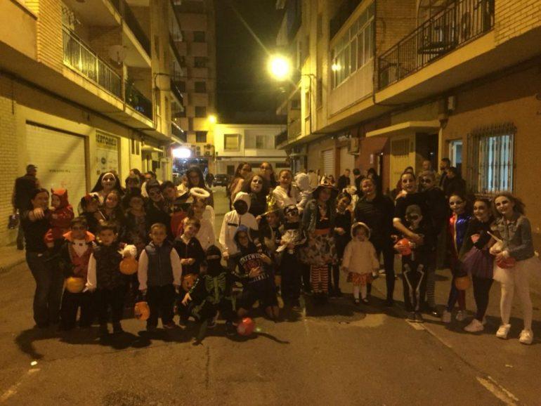 Halloween en la falla Campaments