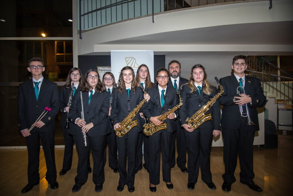 Nuevos músicos de la Banda de Dénia