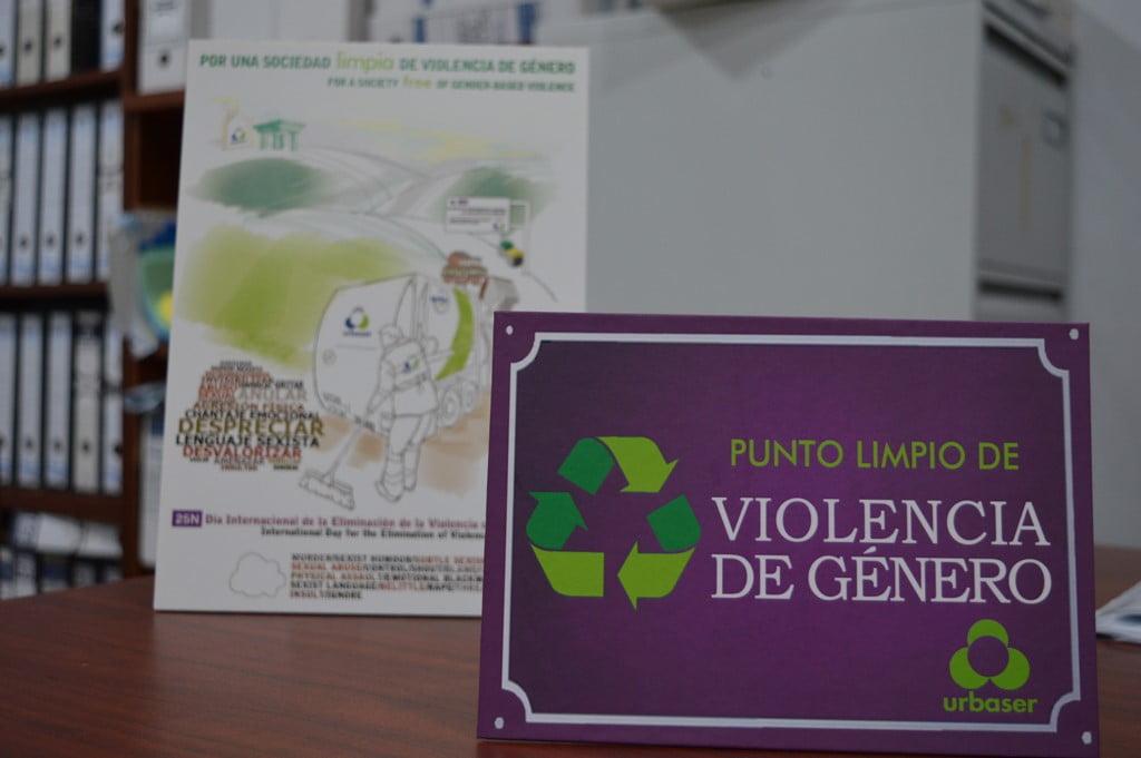 Urbaser se suma a la lucha contra la violencia de género