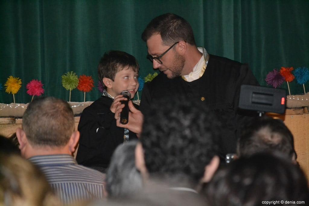 Presentació infantil Falla Centre 2019 - Presentació del president
