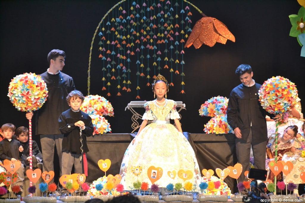 Presentació infantil Falla Centre 2019 - Sortida de Maria