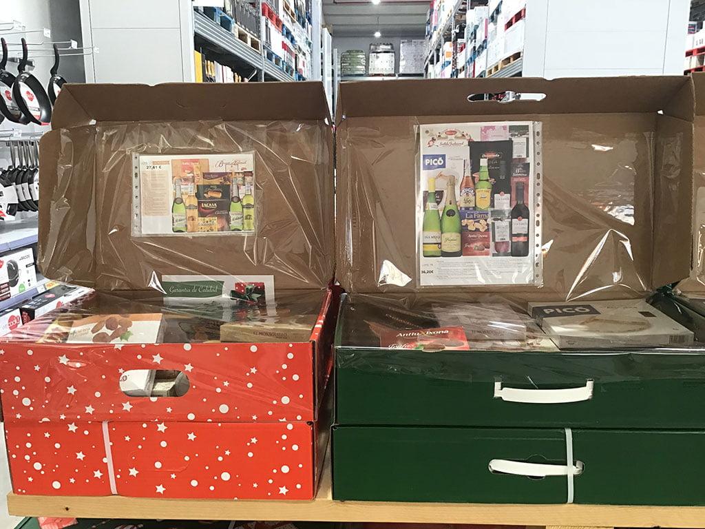Cajas para Navidad surtidas Puga Cash & Carry