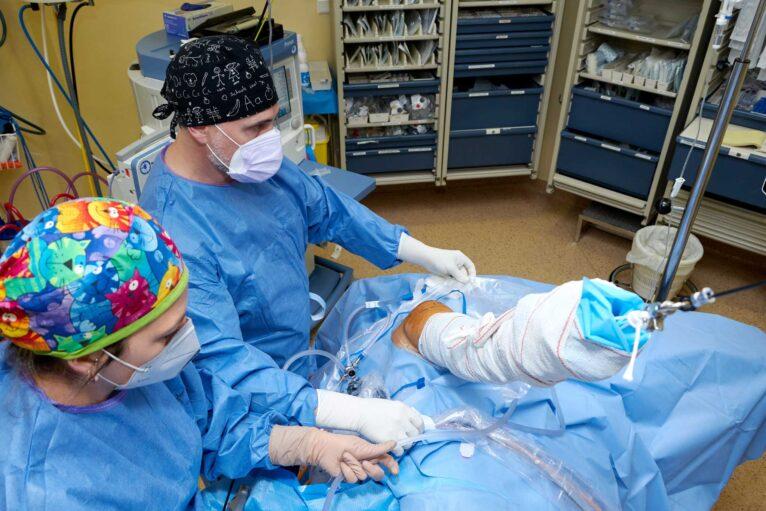 Especialistas en cuidar de los pacientes al detalle