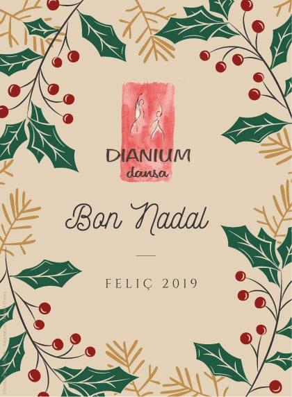 Felicitació de Dianium Dansa