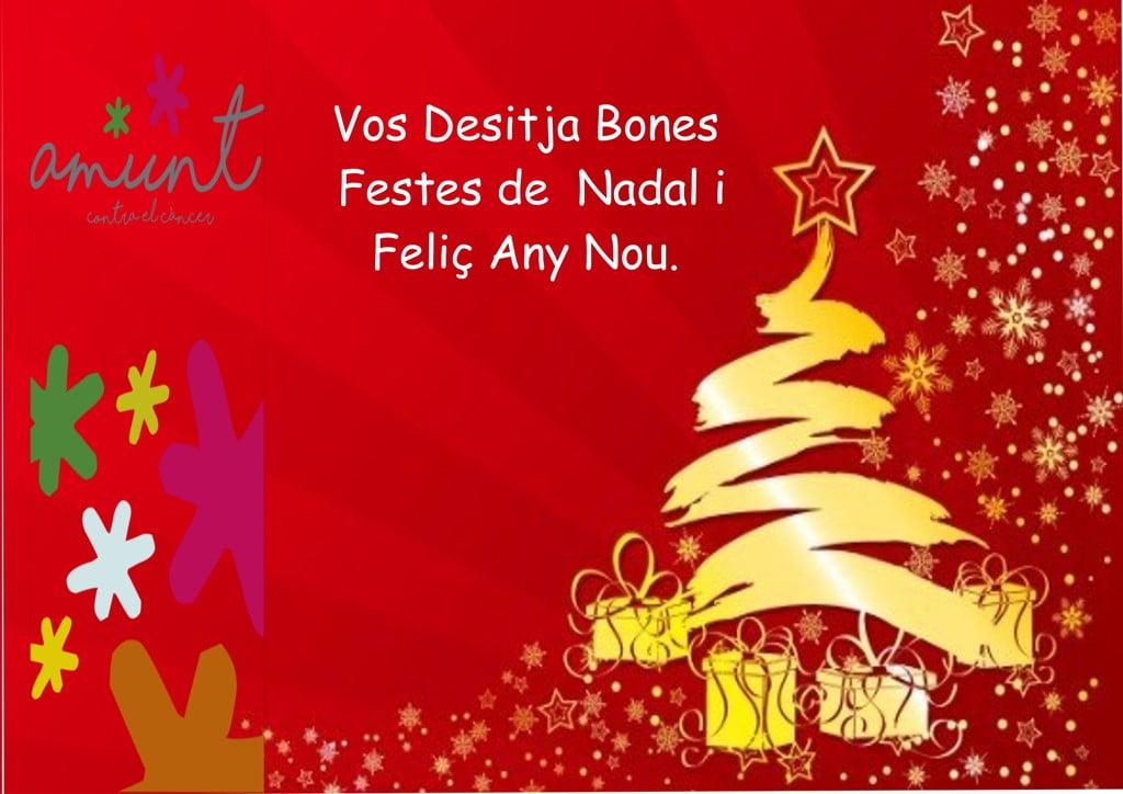Felicitació de Nadal Amunt