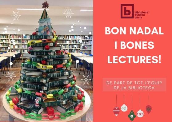 Felicitació de Nadal Biblioteca de Dénia