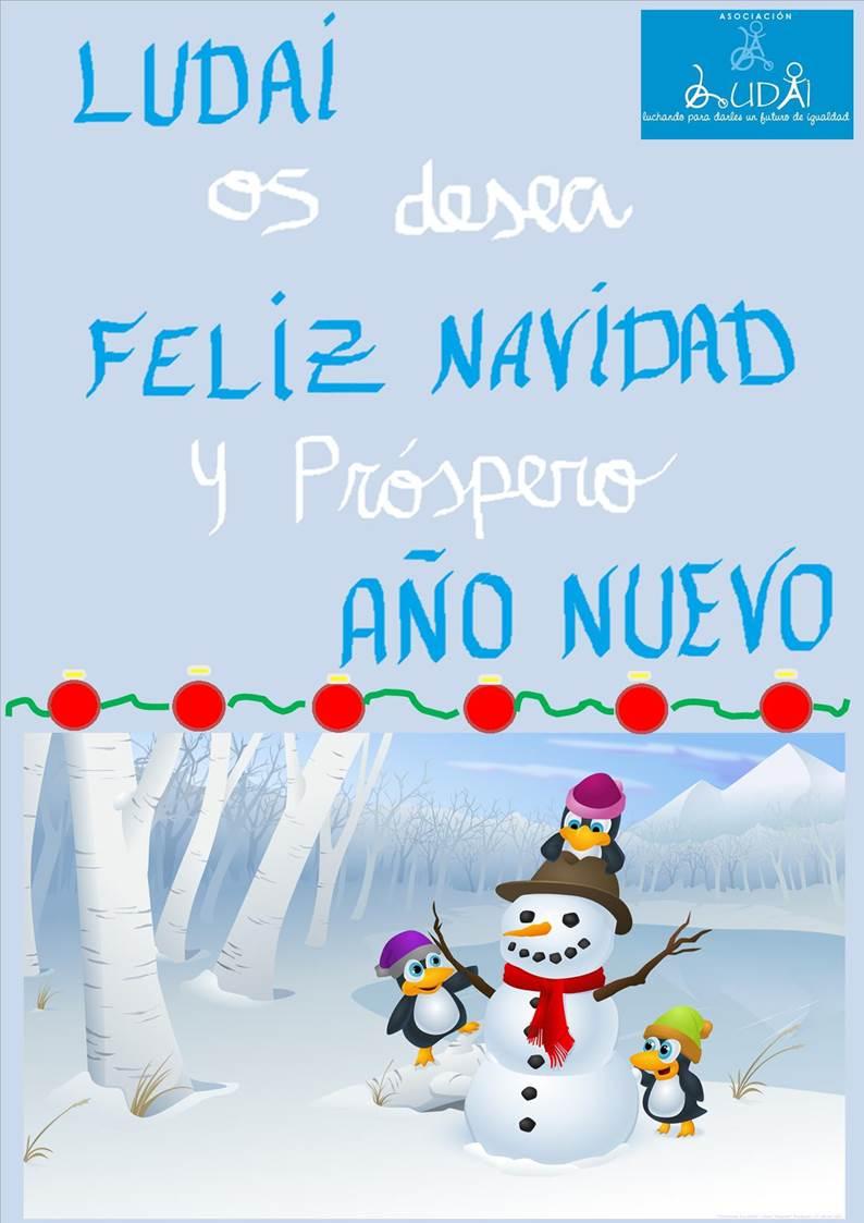 Felicitació Nadalenca Ludai