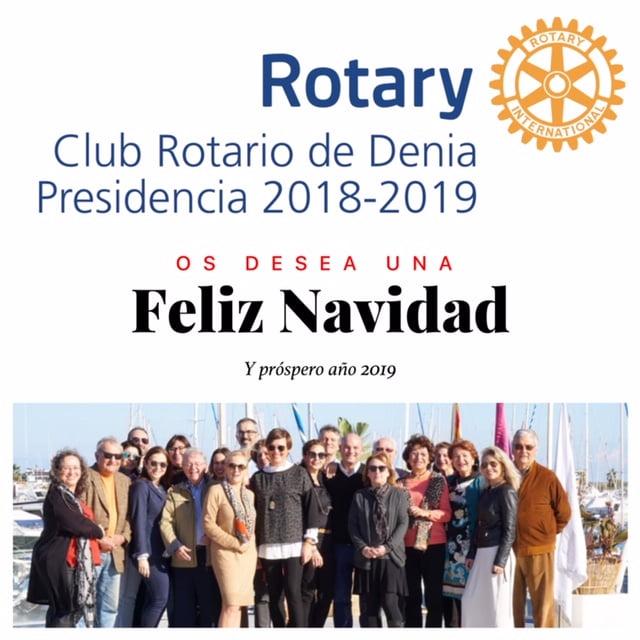 Felicitació Rotary Club Dénia