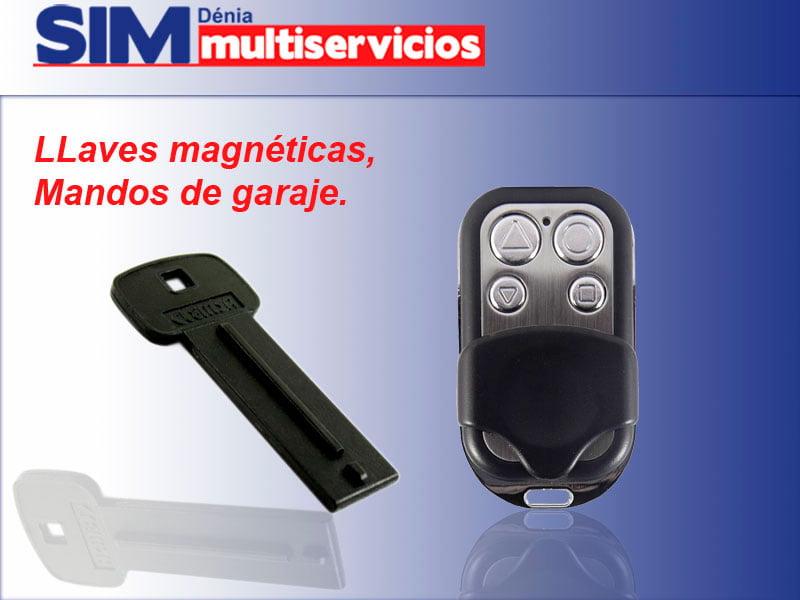 Llaves magnéticas y mandos SIM Multiservicios Dénia