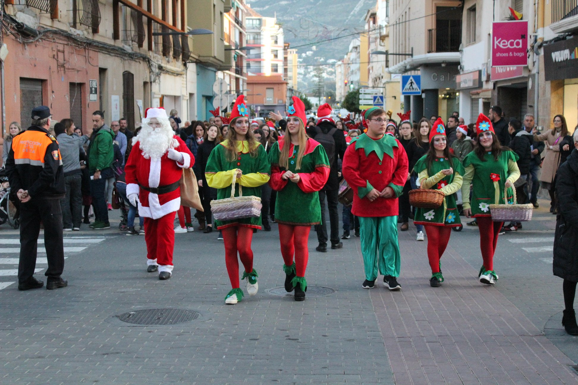 Arrival of Santa Claus to Dénia