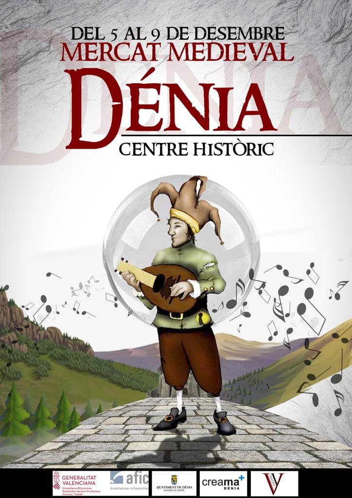 Mercat medieval Dénia 2018