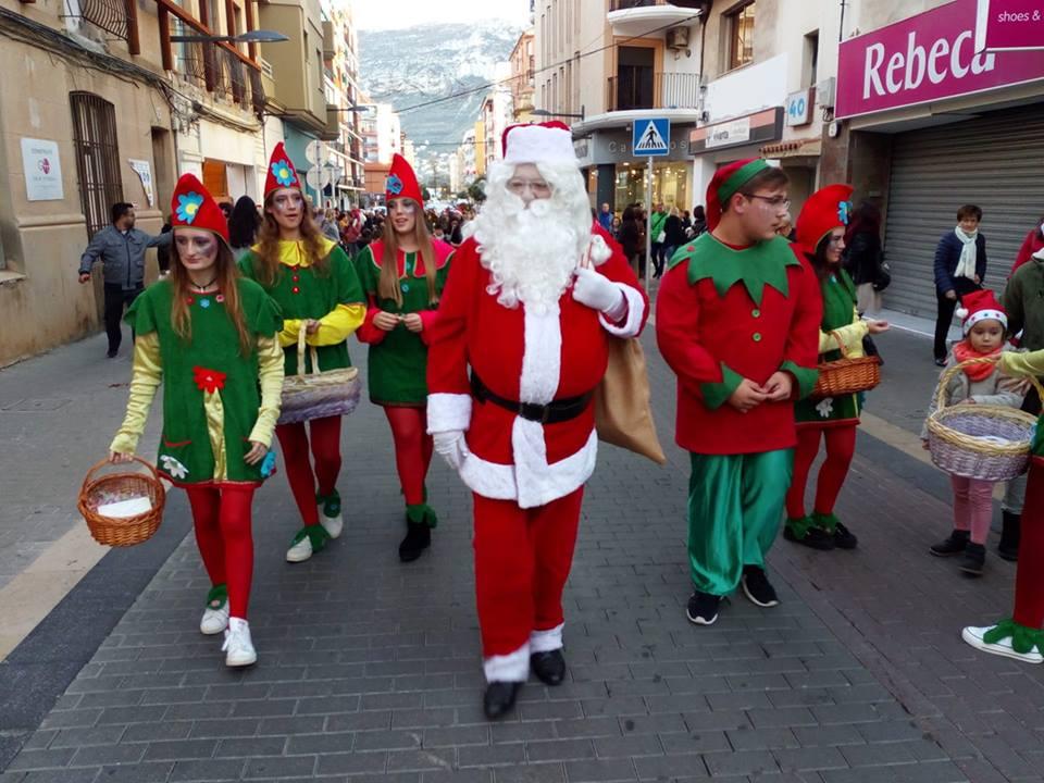 Santa Claus in Dénia