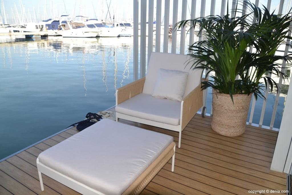Punta de mar – terraza privada