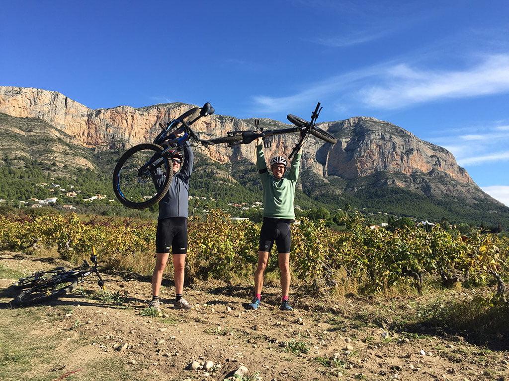 Rutas para mountain bike Aventura Pata Negra