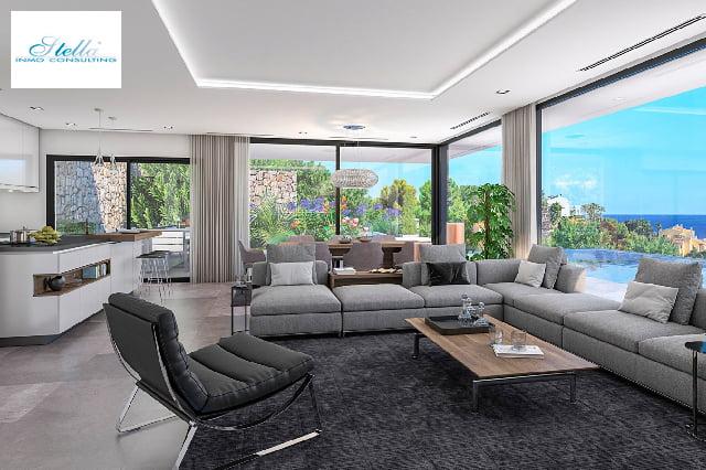 Sala de estar con amplio ventanal Stella Inmo Consulting