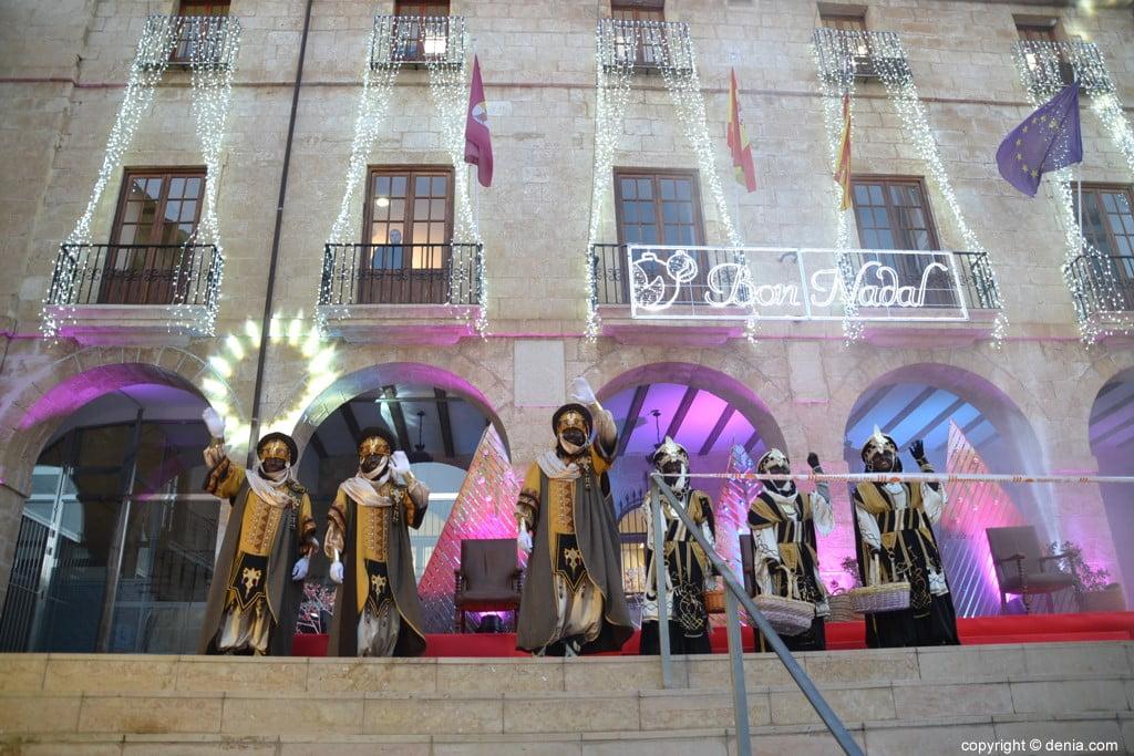 05 Visita dels Carters Reials a Dénia 2019 - Els carters a l'Ajuntament