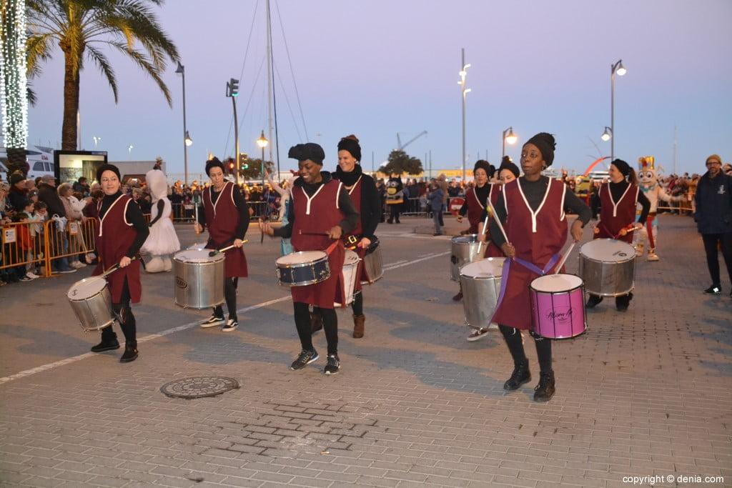 Cabalgata Reyes Magos Dénia 2019 - Batucada